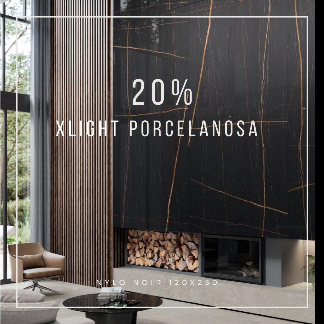 20% de descuento en XLight Porcelanosa